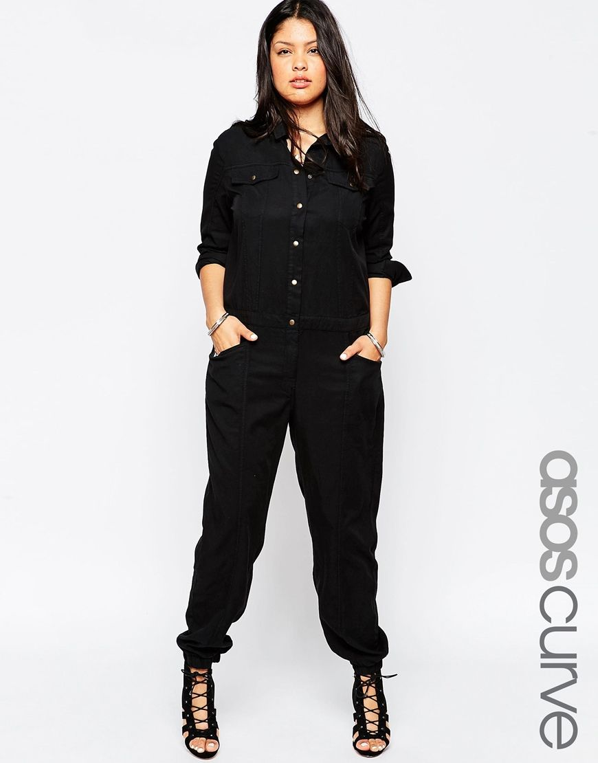 Curve Exclusive Boiler Suit Plus Size Heaven Pinterest Curvy