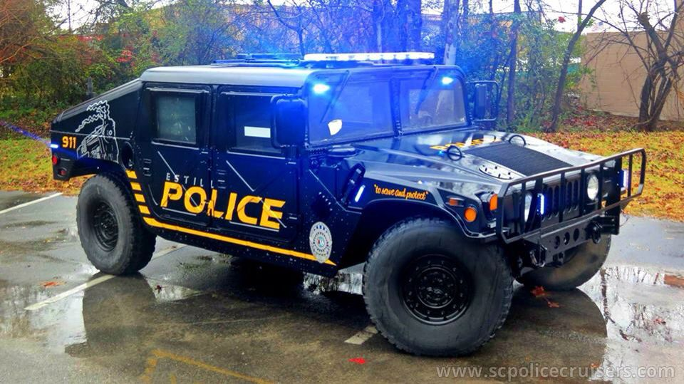 Hummer H1 Police Truck Police Cars Emergency Vehicles