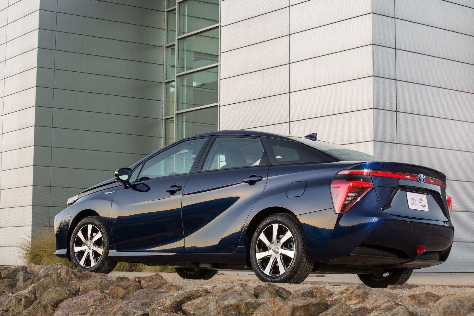 Toyota Mirai 2015 Best new cars, Car, Hydrogen car