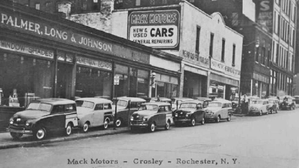 Mack Motors, Crosley Dealership, Rochester, NY   Old Gas Stations ...