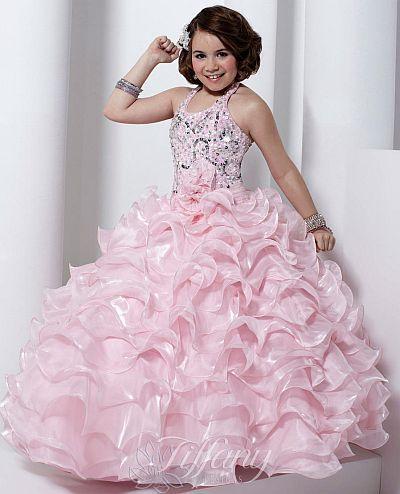 eVogues Womens Sequined Princess Ruffle Dress