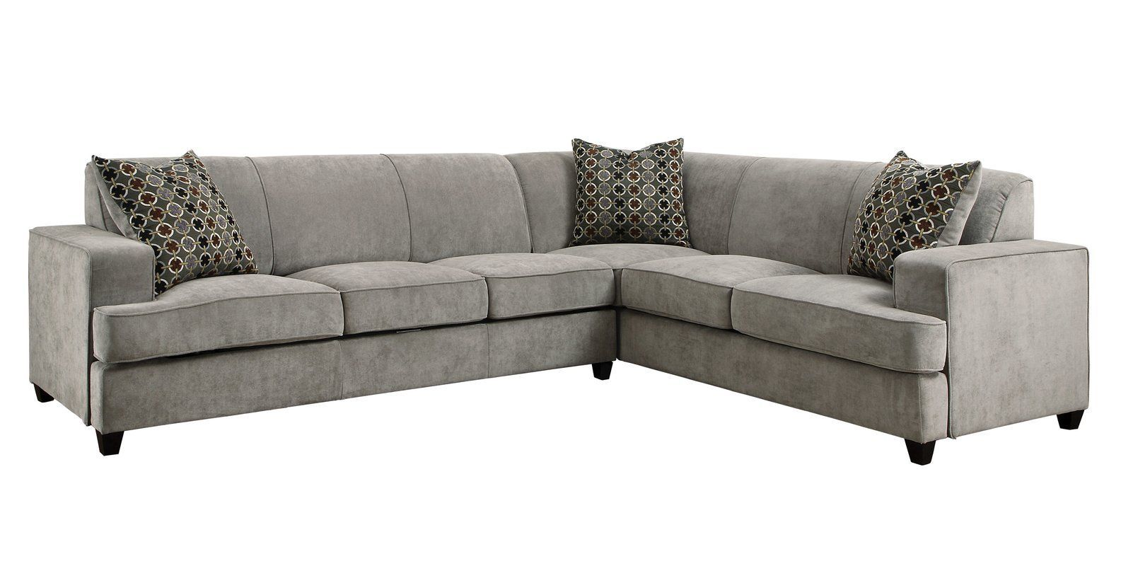 Caswell 114 Right Hand Facing Sleeper Sectional Sectional