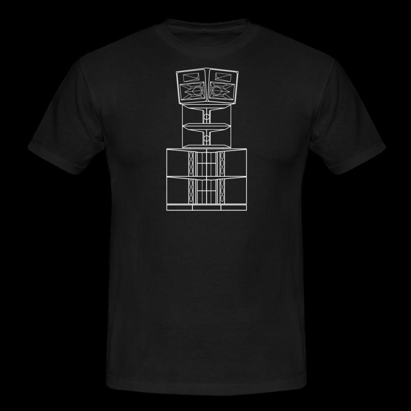 FUNKTION ONE - TECHNO T-SHIRT - Männer T-Shirt