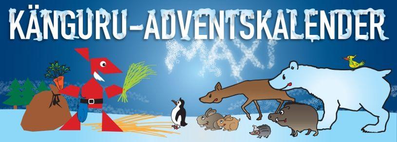 Känguru der Mathematik e.V. | Adventskalender maxi Klasse 3-4