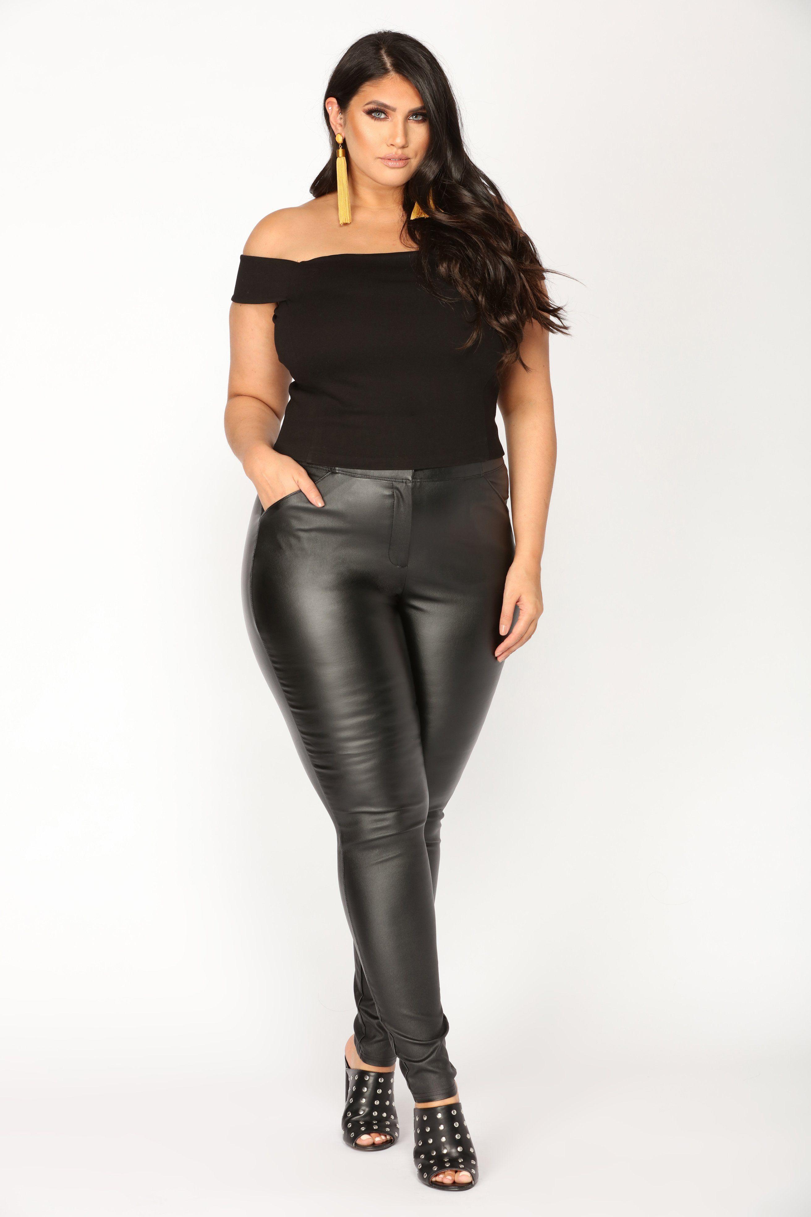 Curvy Women Fashion, Big Girl Fashion, Plus Size Fashion, Womens Fashion,  Black