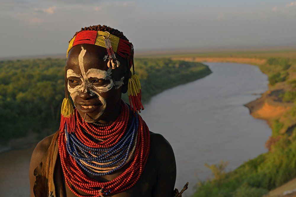 The inhabitants of the Omo valley are mainly breeders - endangered ancient tribes of Ethiopia