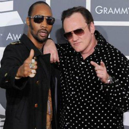 RZA and Quentin Tarantino