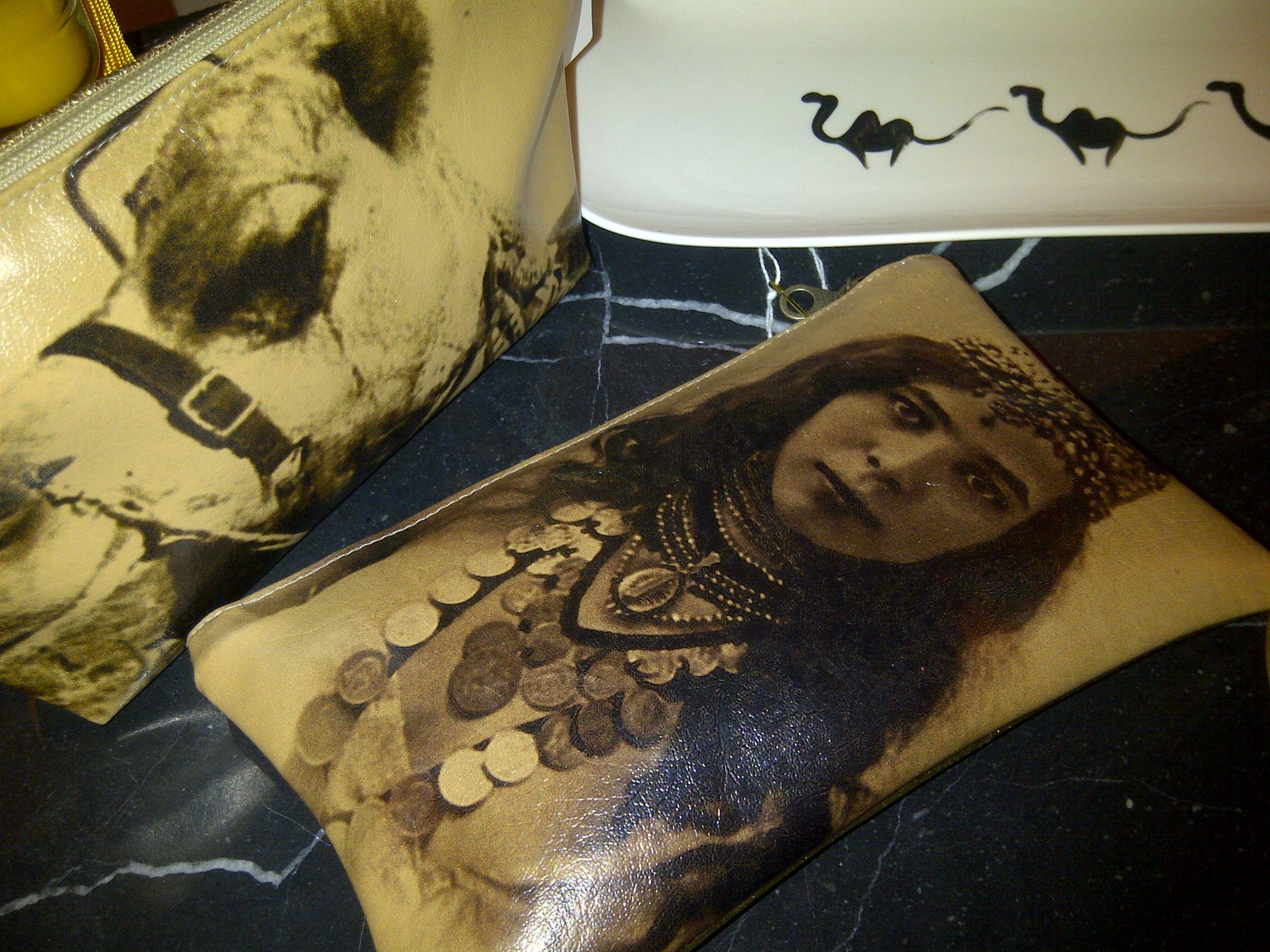 Superb souvenir or gift to ego, Modern Morocco design pochettes at KIS Boutique, Marrakech