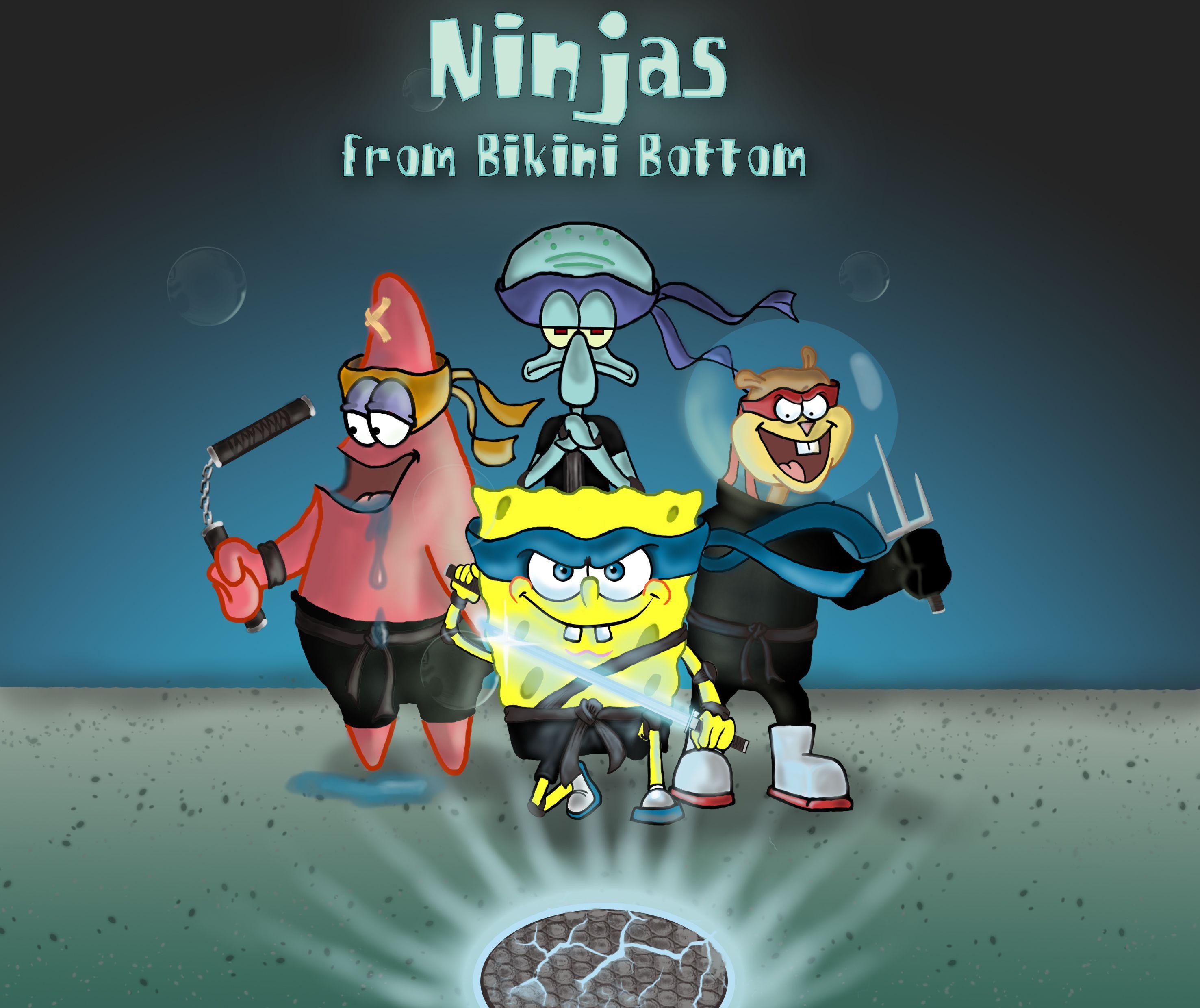 ninjas-from-bikini-bottom-spongebob-squarepants-37346317-2953-2480