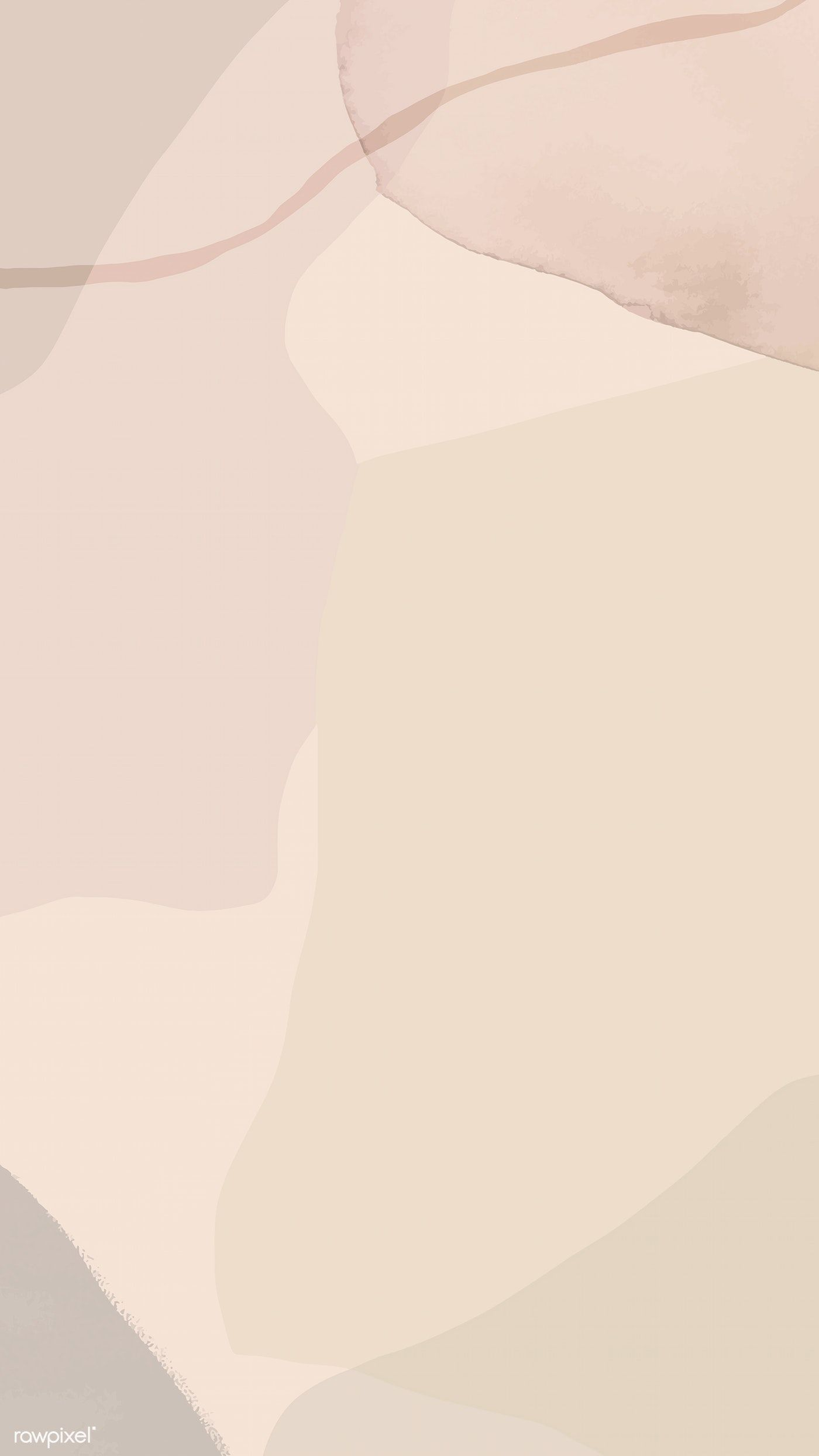 Download premium vector of Neutral soft abstract watercolor background