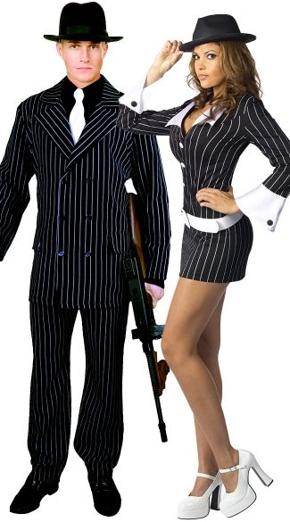 Perfect Pinstripe Couples Costume  sc 1 st  Pinterest & Perfect Pinstripe Couples Costume | Burlesque | Pinterest ...