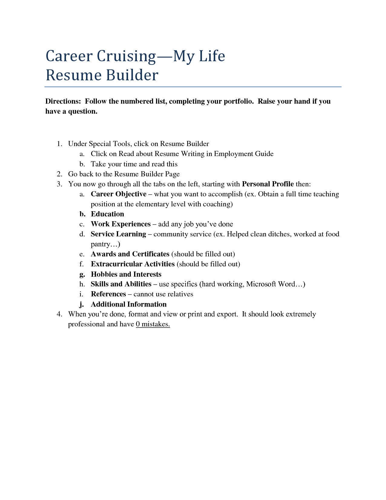 Career Builder Resume Custom Career Builder Resume Samples Templates And Builders Qbdrj  Home