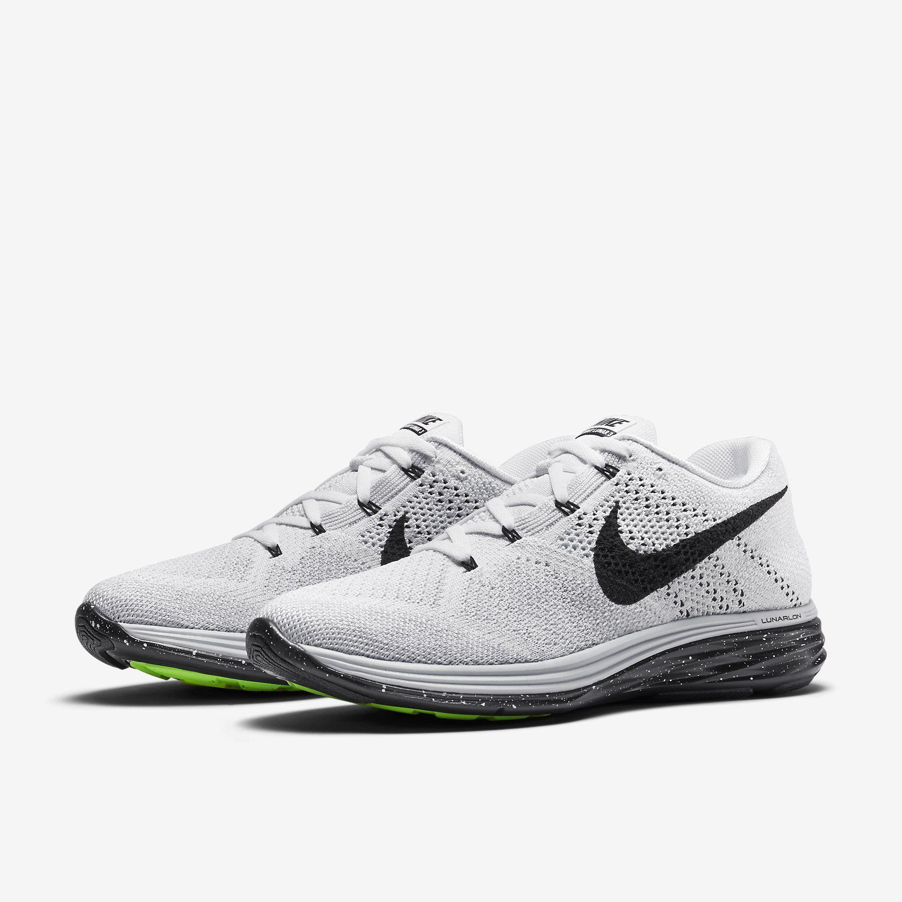 Nike Flyknit Lunar 3 Men S Running Shoe Nike Store Nike Flyknit Lunar 3 Running Shoes For Men Fashion Shoes Sneakers