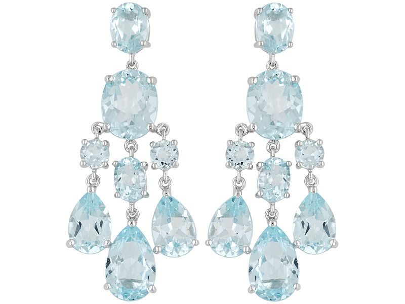 5e1a40e1e17c16 Step into the new year with these stylish and elegant glacier topaz  chandelier…
