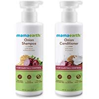 Mamaearth Onion Anti Hairfall Combo (Shampoo und Conditioner) – je 250 ml