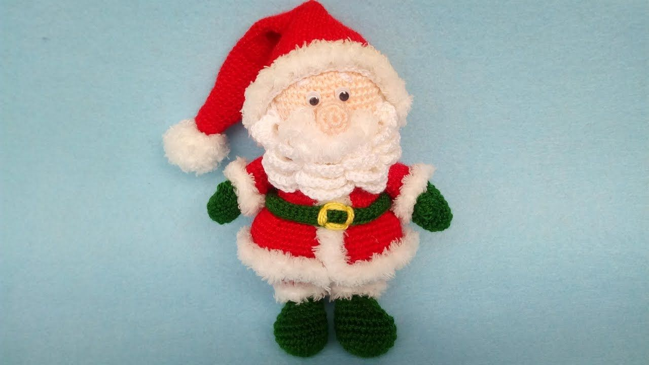 Tutorial pupazzi natalizi ad uncinetto - (mini amigurumi crochet ... | 720x1280
