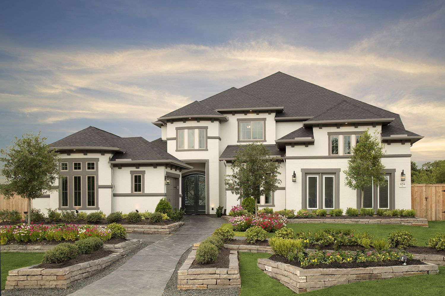 Coventry Homes in Grayson Woods (Katy, TX) Design 7315