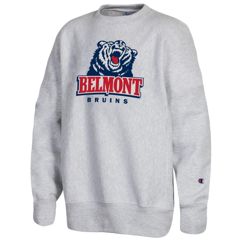 Champion Youth Reverse Weave Crew The Belmont Store Graphic Sweatshirt Youth Sweatshirts [ 1500 x 1500 Pixel ]