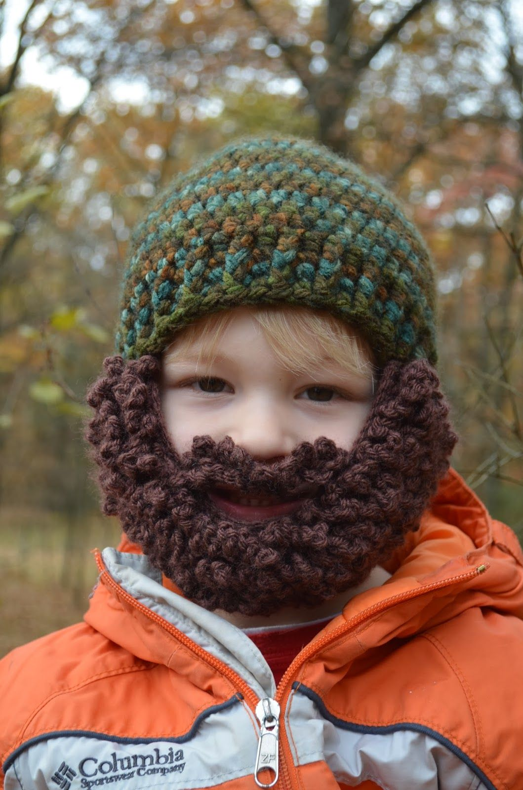 Hand Me Down Hobby: Mountain Man Beard Hat   Crochet hat patterns ...