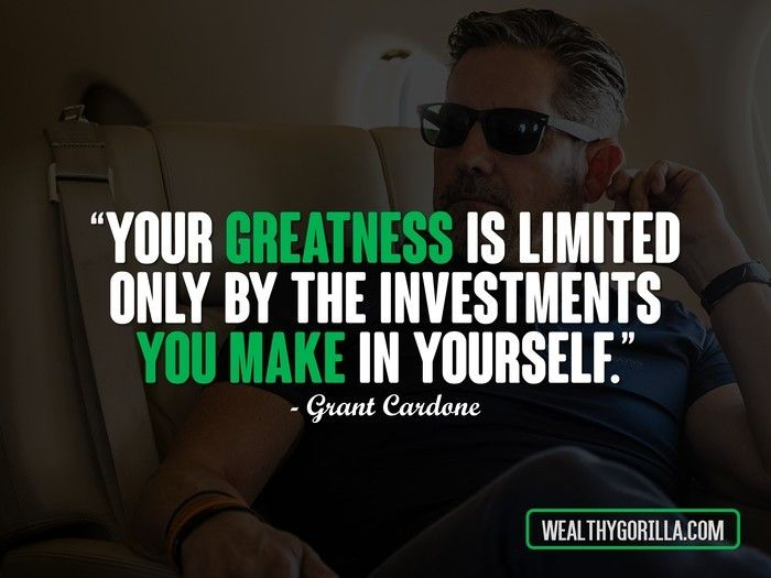 Grant Cardone Quotes Beauteous Quote Of The Day  Daily Quotes  Pinterest  Grant Cardone And Success
