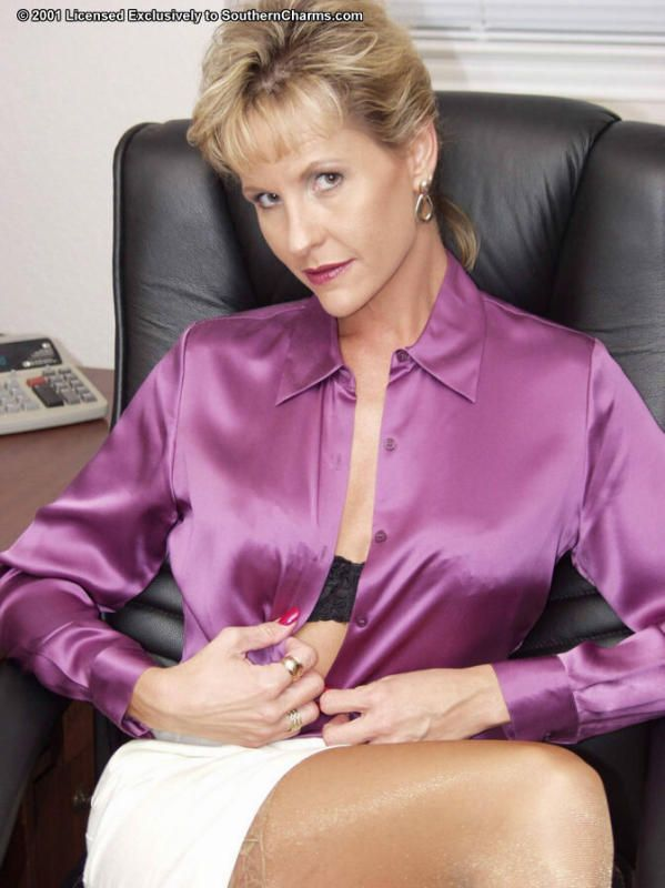 satin blouse how to wear