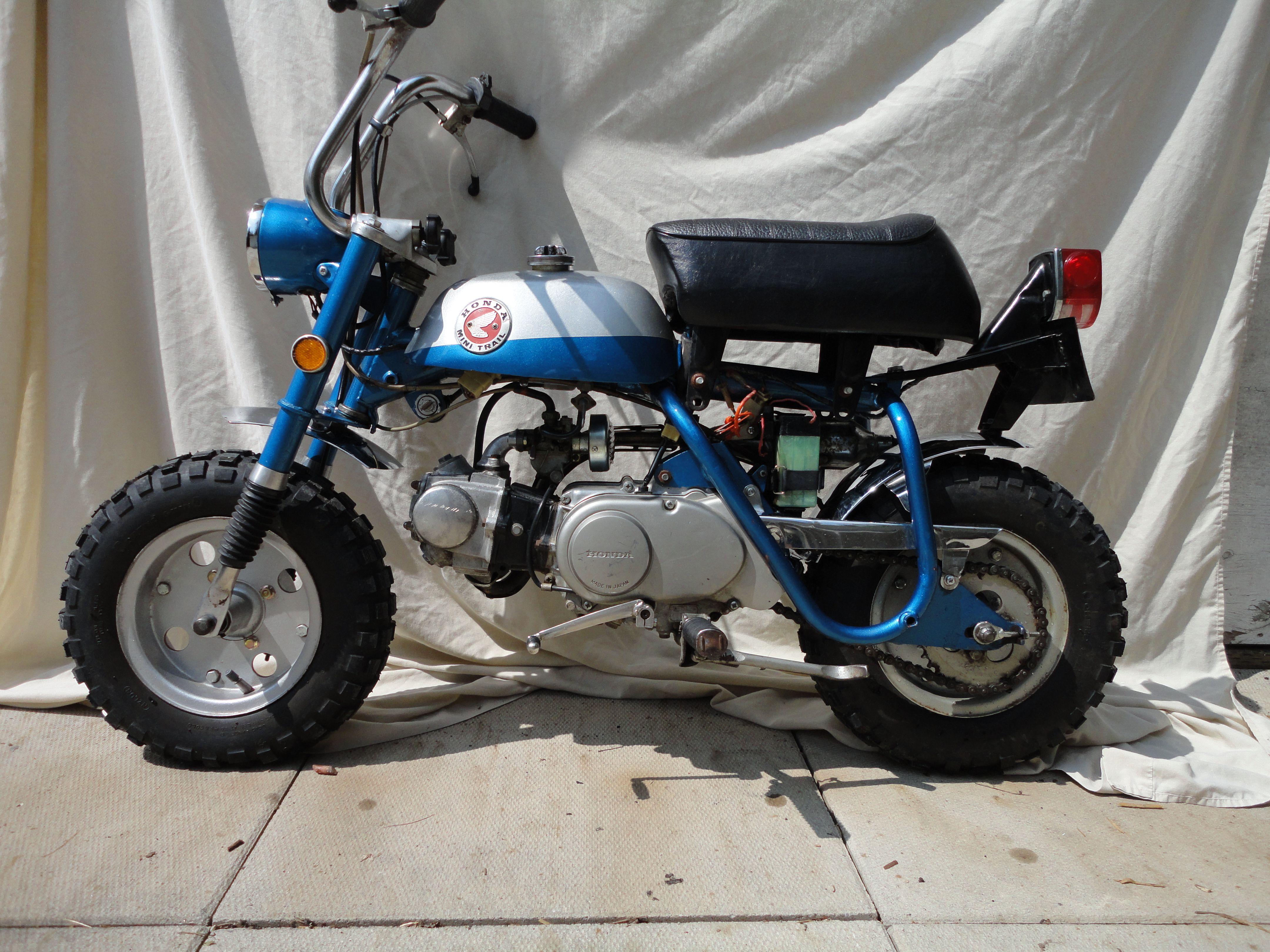1969 honda mini trail z50ak0 the mini motorcycle that. Black Bedroom Furniture Sets. Home Design Ideas