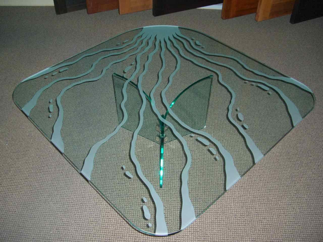 Living Water Ii Glass Coffee Table Glass Table Redo Glass Top Table Glass Dining Table [ 960 x 1280 Pixel ]