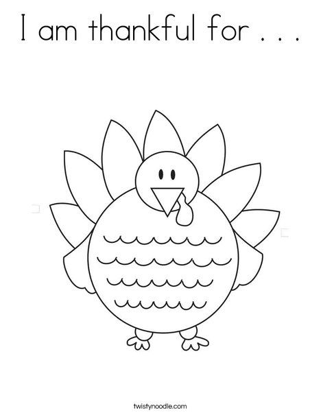I Am Thankful For Coloring Page Thanksgiving Coloring Sheets Thanksgiving Coloring Pages Free Thanksgiving Coloring Pages