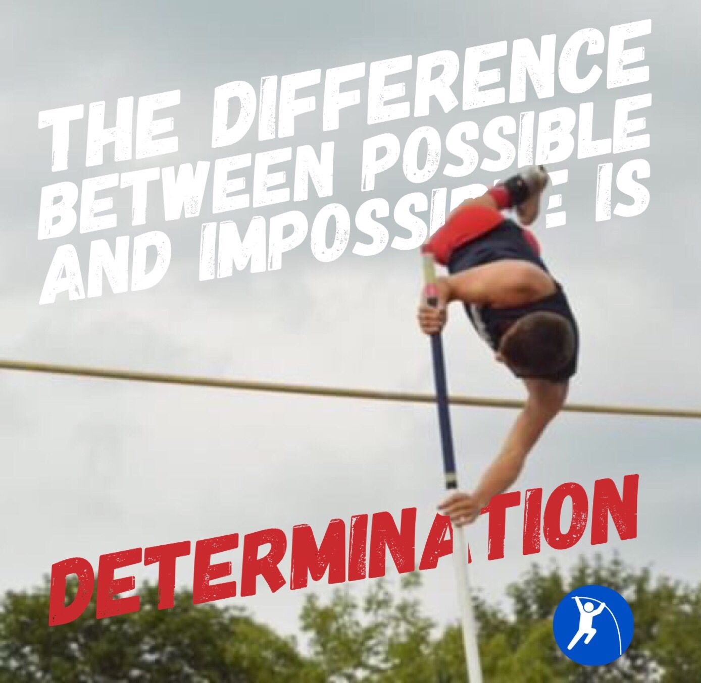 Determination Pole Vault Running Memes Track And Field