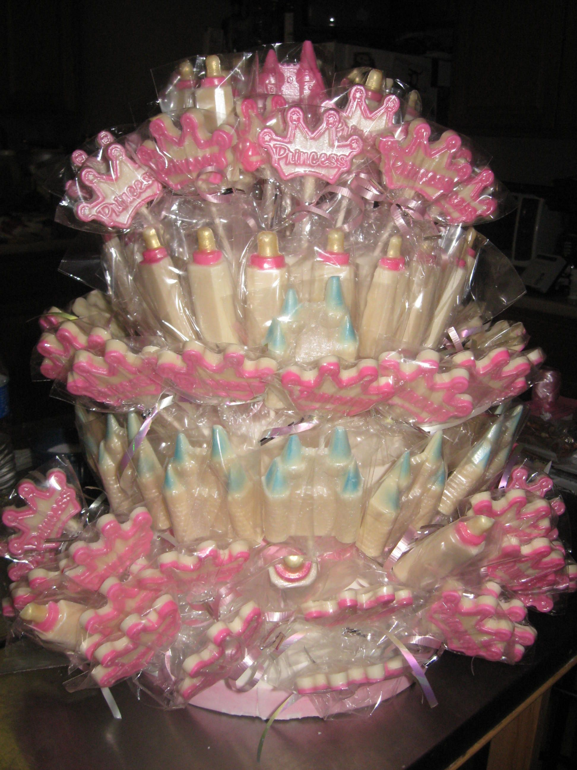 Princess Theme Baby Shower Favors Lollipops For The Love Of Cake