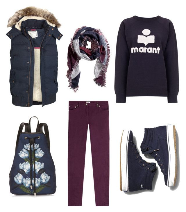 """""""Untitled #360"""" by nicola-waterman-clapman on Polyvore featuring Kenzo, Étoile Isabel Marant, H&M, Keds, Mother of Pearl and Fat Face"""