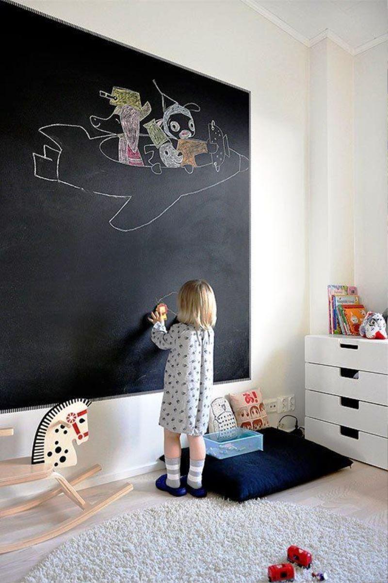 Cool Chalkboard Ideas For Kids Room - Real House Design  Kamar