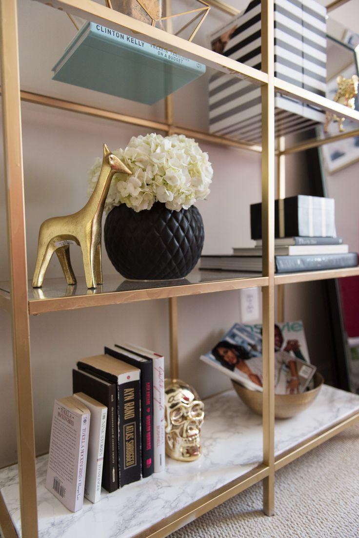 DIY Ikea Bookcase Hack | DC lifestyle | Alicia Tenise