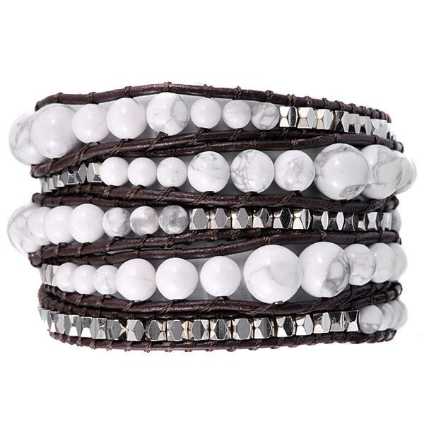 Cloud Atlas - we love the beautiful design and materials in this wrap, the graduated beads give it an easy going attitude