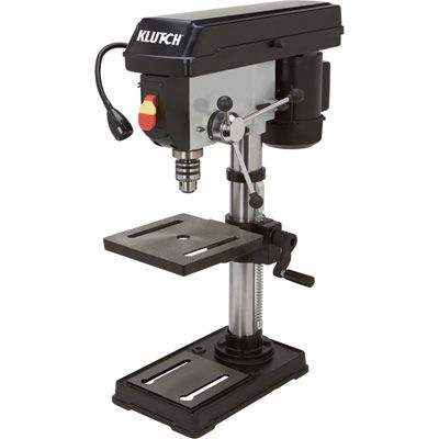 Klutch Benchtop Drill Press 5 Speed 10in 1 2 Hp 120v Drill Press Woodworking Tools For Sale Drill