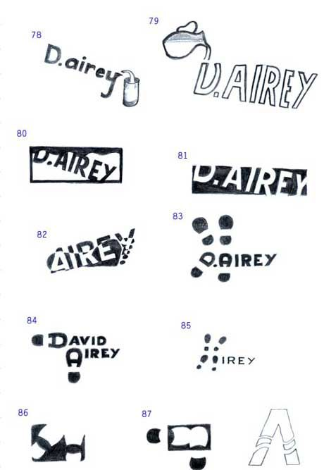 Airey sketches 3   Personal logo - doodling inspiration   Pinterest ...