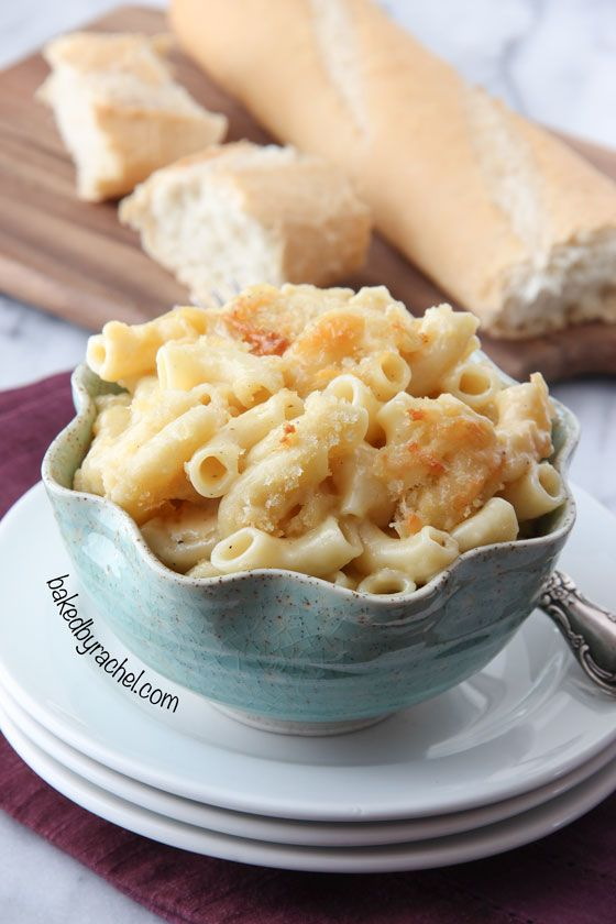 This was OK.  We all agreed that we like grandma's version better.  Four Cheese Macaroni and Cheese Recipe from bakedbyrachel.com