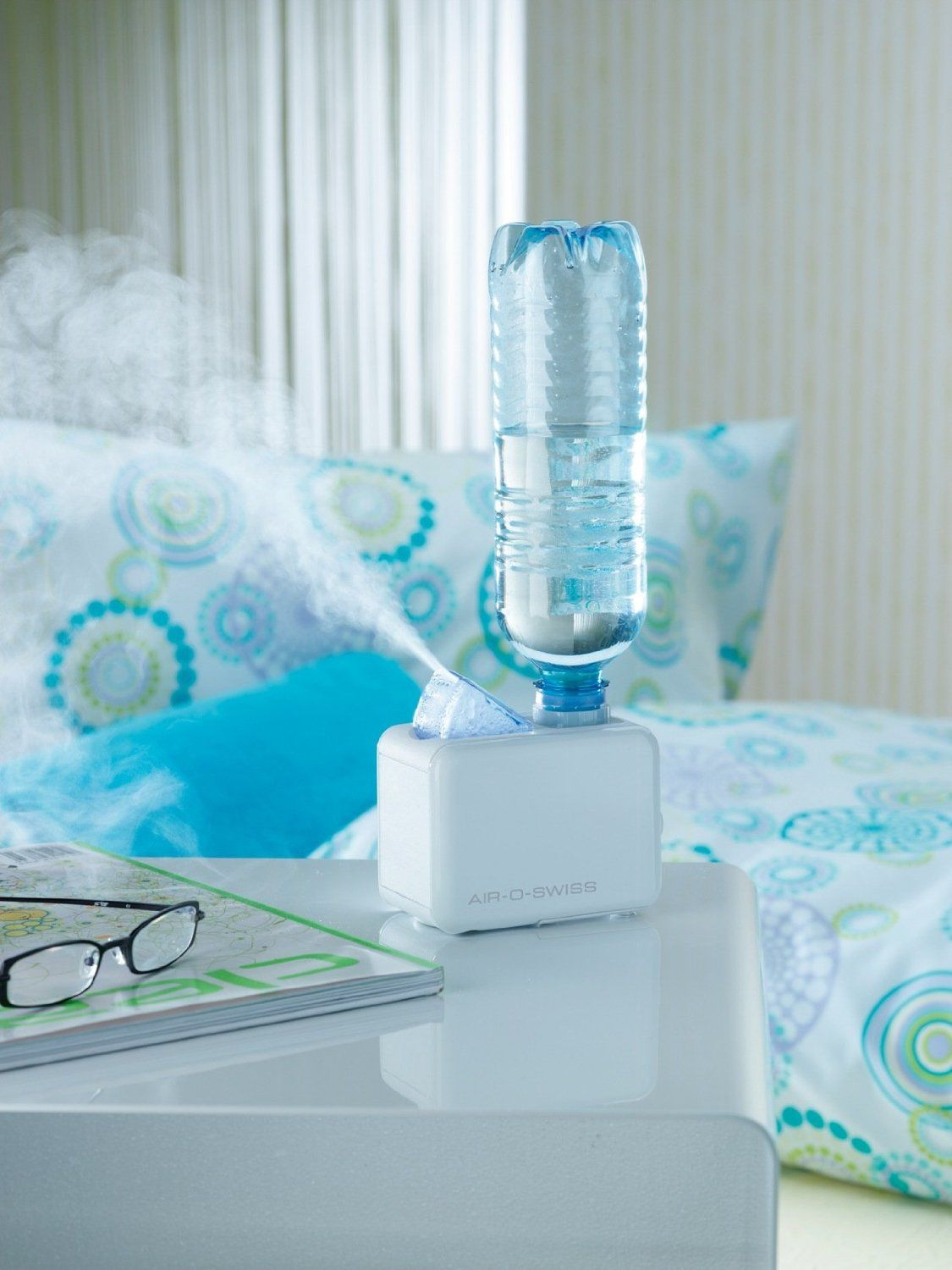 Cool little travel humidifier that uses a regular water