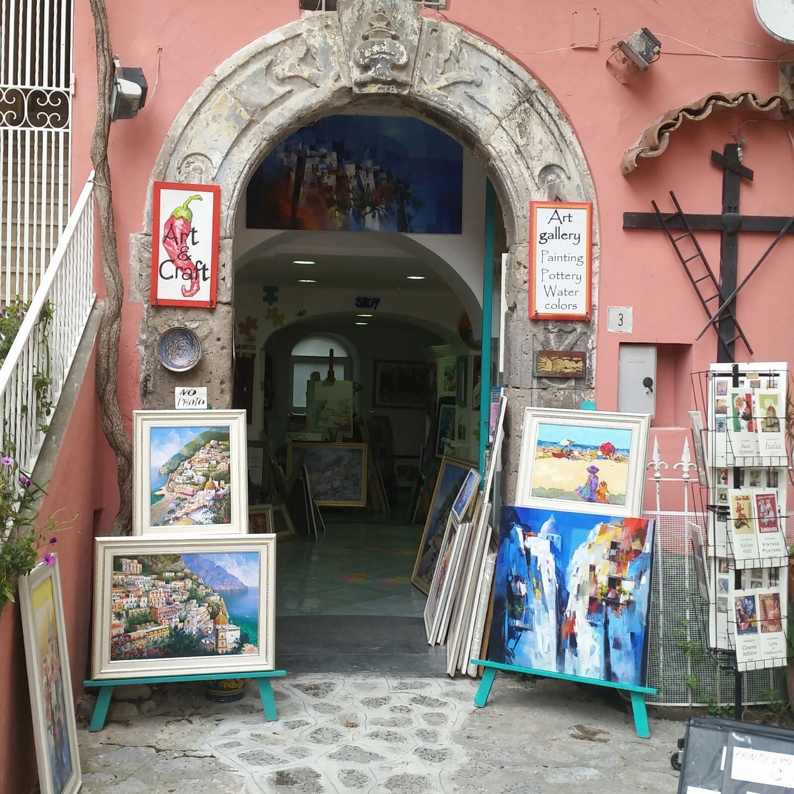 Art Amp Craft Gallery Positano See 38 Reviews Articles And