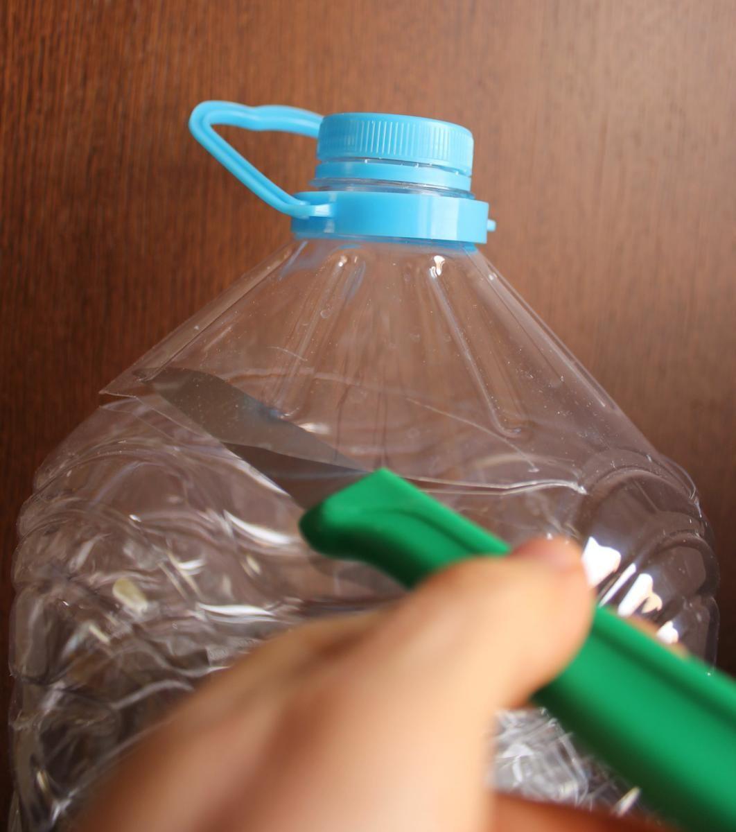 Idea creativa y práctica para reutilizar las botellas de plástico ...