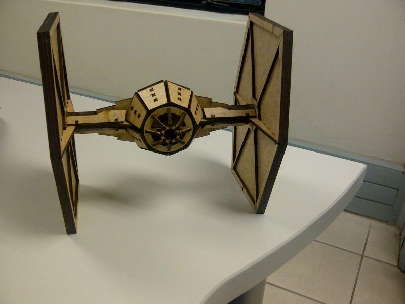 Star Wars Tie Fighter Lasercut Laser Cut Fun