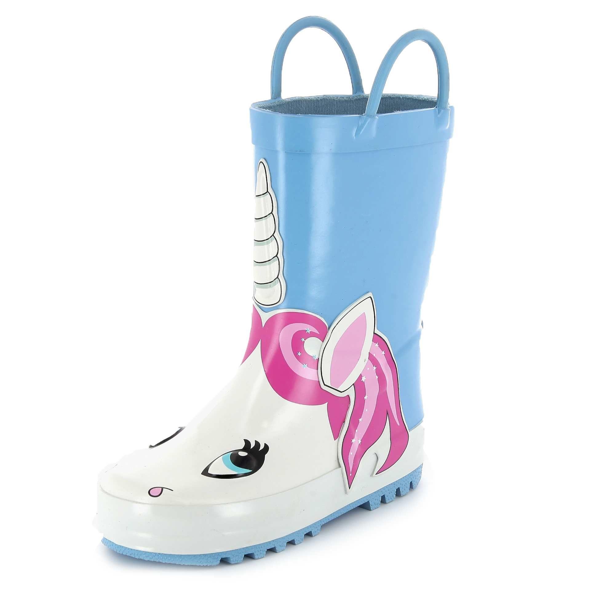 Bottes de pluie fantaisie Petite fille Kiabi 12,00