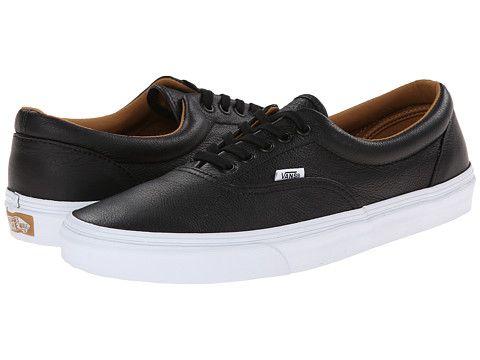 Vans Era™ (Premium Leather) Black - Zappos.com Free Shipping BOTH Ways