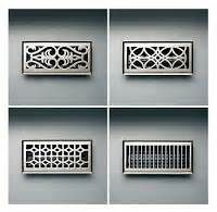 Silver Air Vent Covers Modern Classic Vintage Designs Air Vent Covers Vent Covers Hvac Air