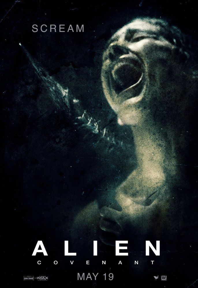 Latest Posters With Images Alien Covenant Movie Covenant