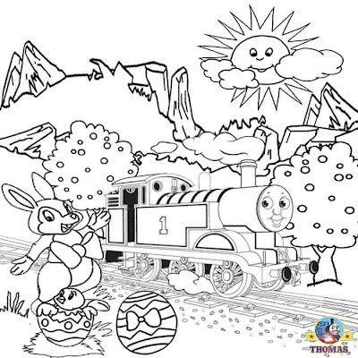 Free Printable Holiday Worksheets Free Printable Easter Worksheets Thomas The Train Coloring P Train Coloring Pages Easter Printables Free Holiday Worksheets