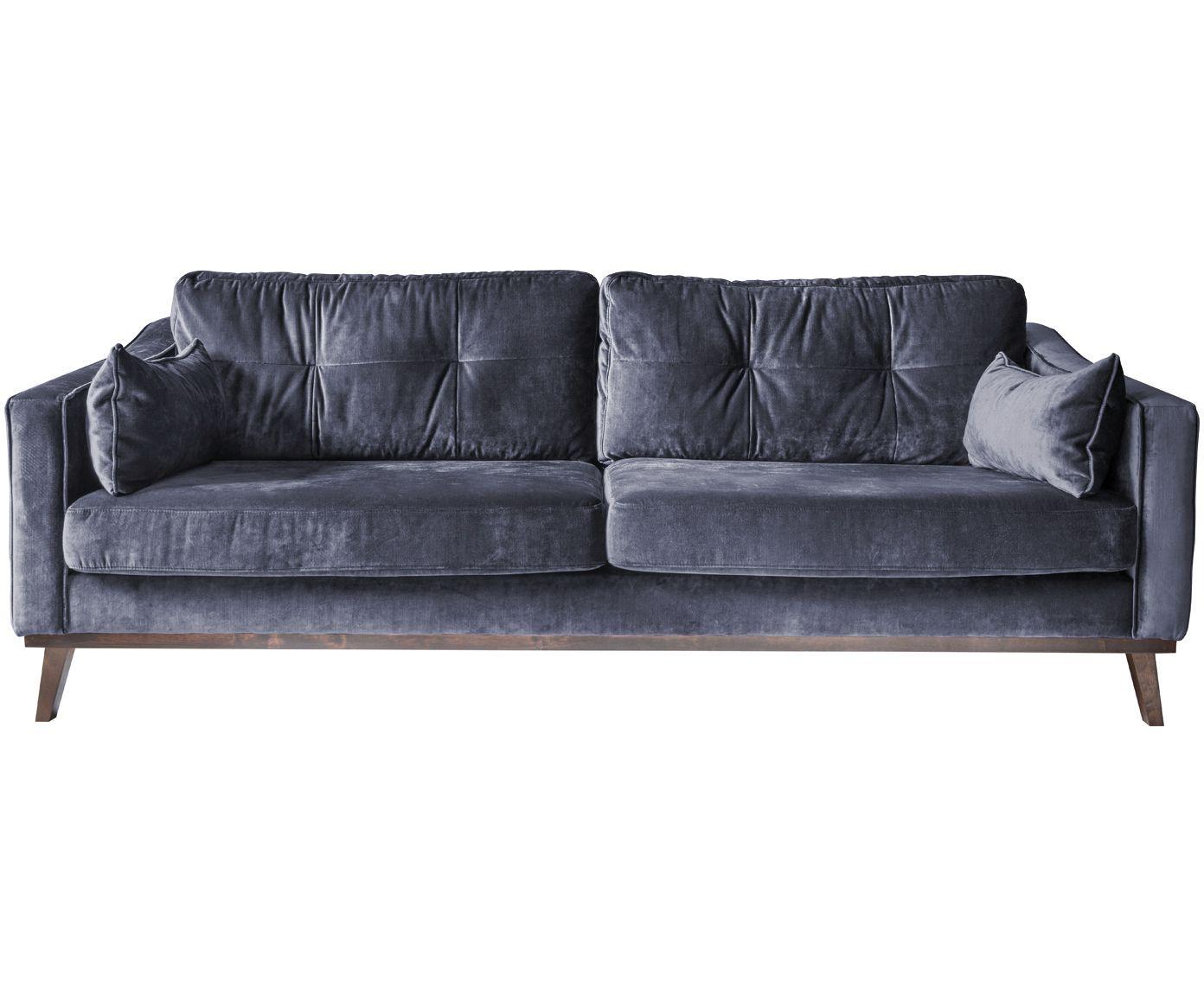 Designermöbel sofa  Samt-Sofa Almana (3-Sitzer) | Der traum, Lübeck und Hollywood