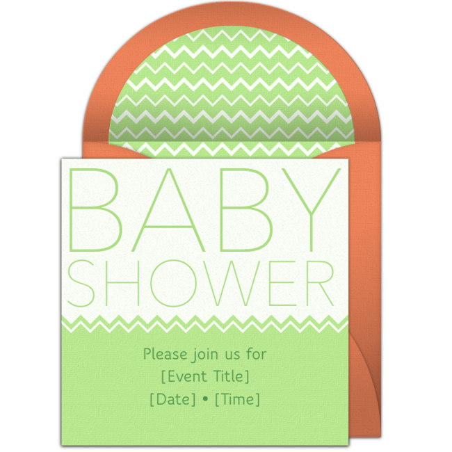 Free baby shower headline invitations babies customizable baby shower headline online invitations easy to personalize and send for a party filmwisefo