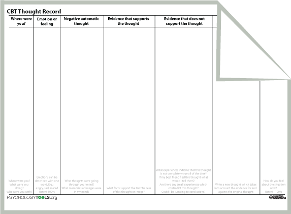 Check out this cool chart You can record during the day when you – Cognitive Therapy Worksheets