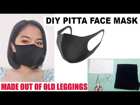 Photo of How to make Handmade Pitta Face Mask | Made out of Used/Torn Leggings | 100% Recycled